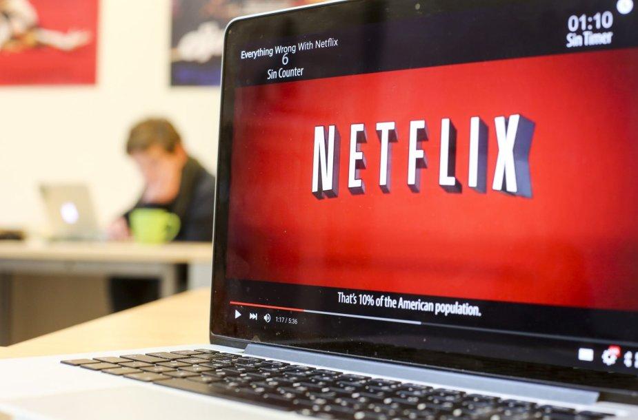 """Netflix"" Lietuvoje žiūri apie 40 tūkst. žmonių"