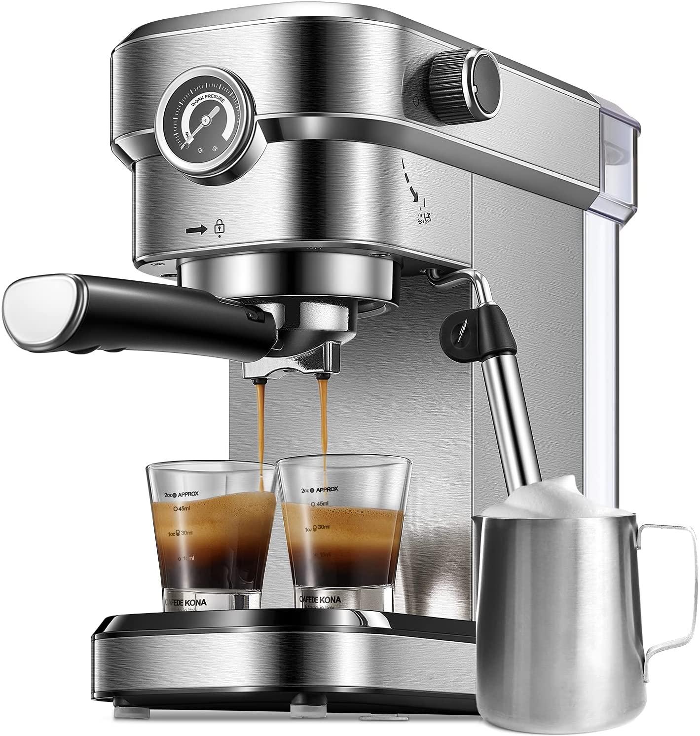 Kaip išsirinkti kavos aparatą?