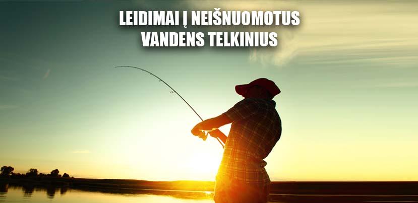 Įsigyk žvejo bilietą per TIKETĄ
